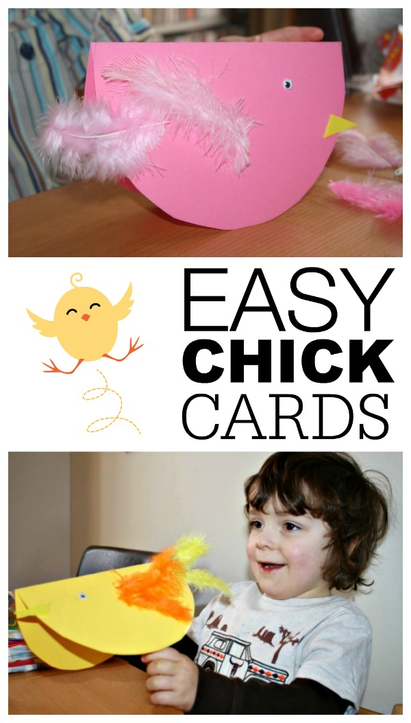Easy chick cards