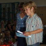Maxi's Foundation Stage Graduation