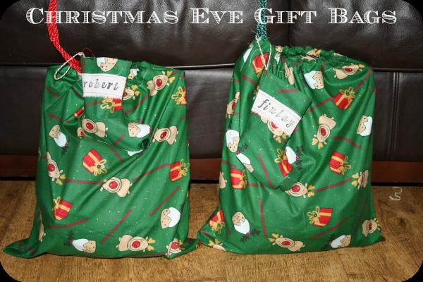 Christmas Eve gift bags