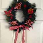 Home made Christmas wreaths