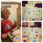 Fingerprint thank you cards