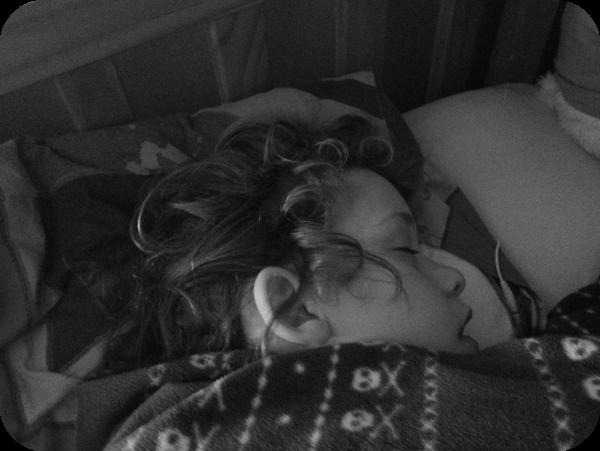 maxi asleep