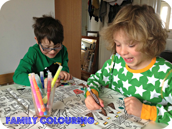 family colouring