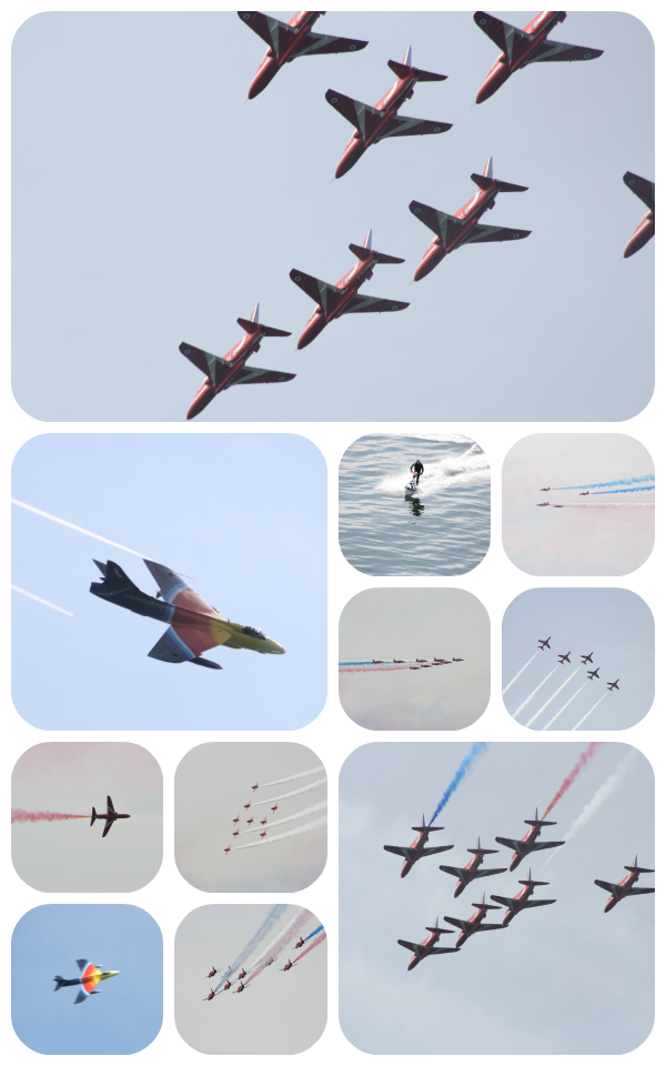 airshow Collage