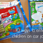 10 Ways to keep children entertained on long car journeys