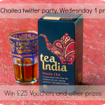 Join me for a tea break at 1pm on Wednesday 10th July #chaitea