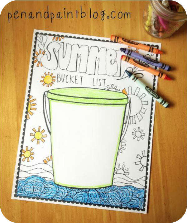 pen and paint blog bucket list
