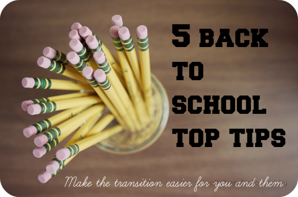 back to school top tips