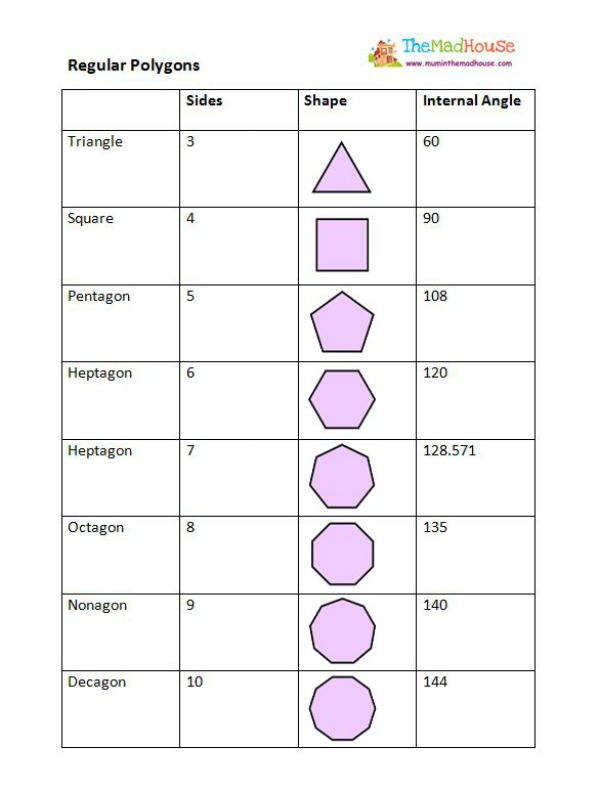 This Is A Quadrilateral Worksheet | Free Printable Math Worksheets ...