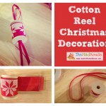 Kid Made Christmas Decoration's – Cotton Reels