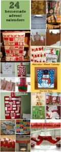 homemade advent calenders