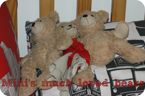 mini's much loved bears