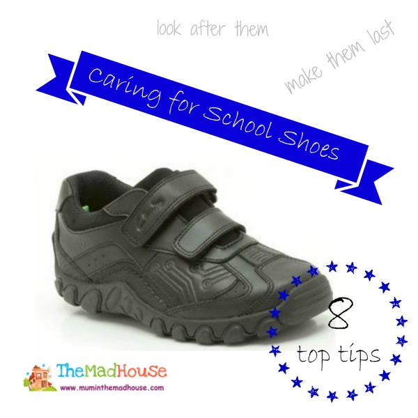 caring for school shoes