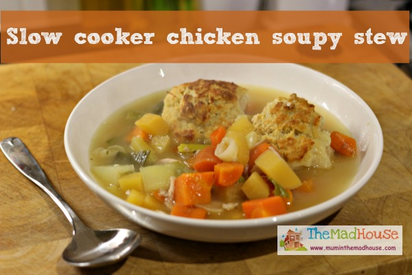 chicken soupy stew