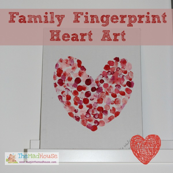 family fingerprint heart