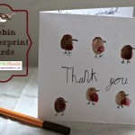 Fingerprint Thank you cards – Robins