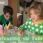 Colouring on Fabric