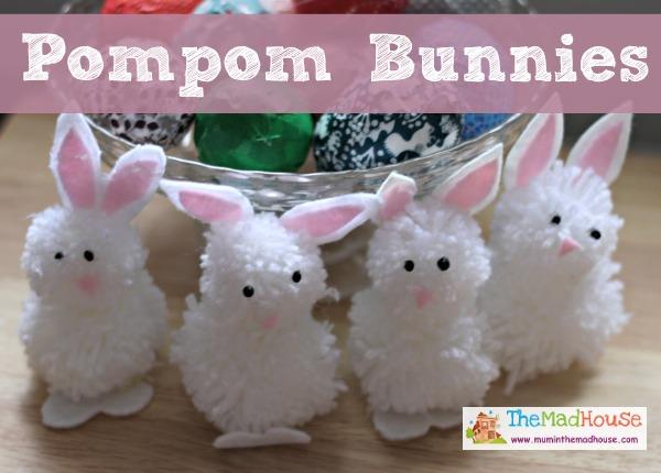 pompom bunnies