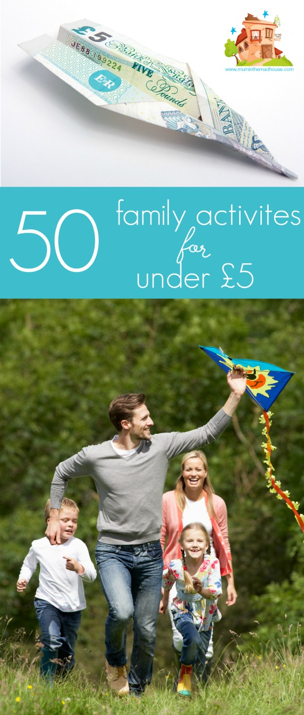50 familiy activities under £50