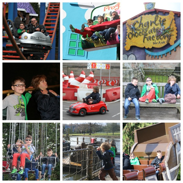 Alton Towers Collage