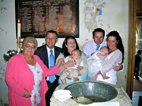 Maxi's christening