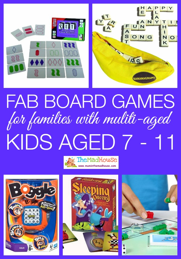 board games for Multi aged families