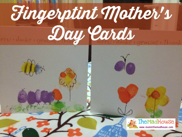 fingerprint mothers day card