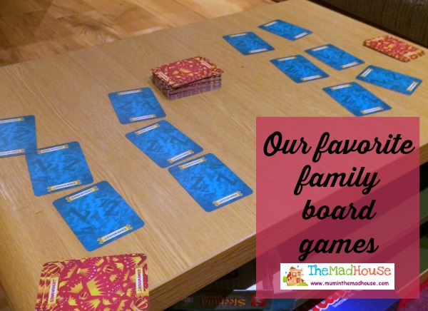 our favorite board games