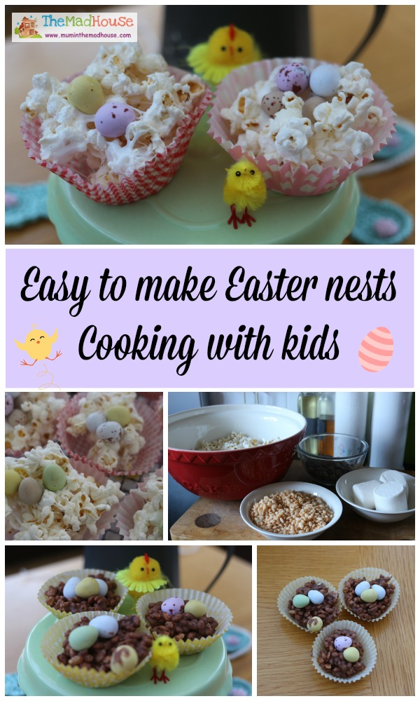 East to make easter nests