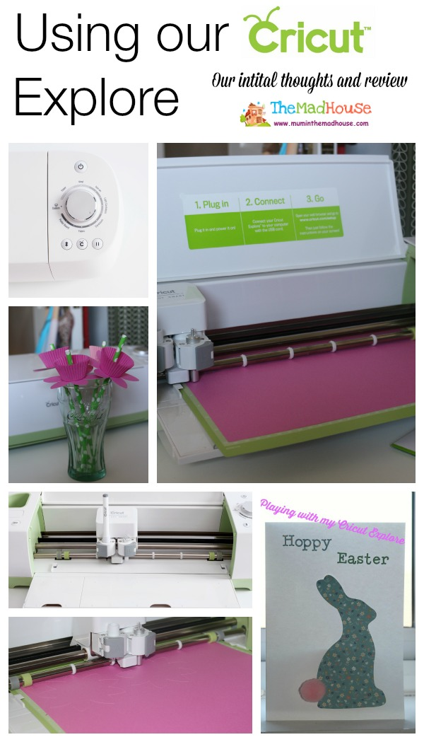 Our intial review on Cricut eXPLORE