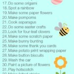 Low Spend or No Spend Bored Jar Activities – The Spring Edition
