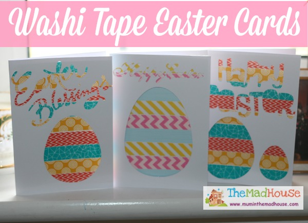 Washi Tape Easter Cards