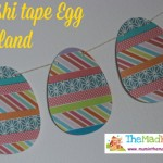 Washi Tape Easter Garland