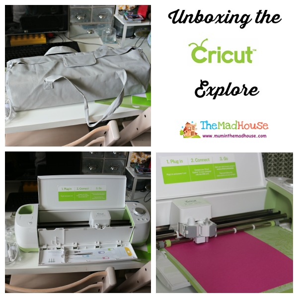 unboxing the cricut explore