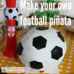 How to make a Football piñata or Soccer ball piñata