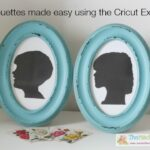 Silhouettes made easy using the Cricut Explore
