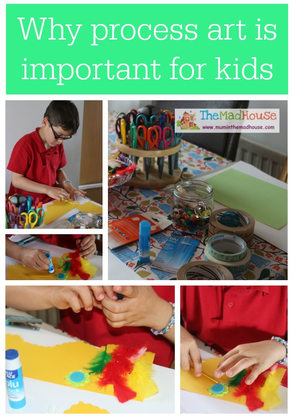 Why process art is important for kids collage