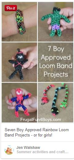 loom band projects