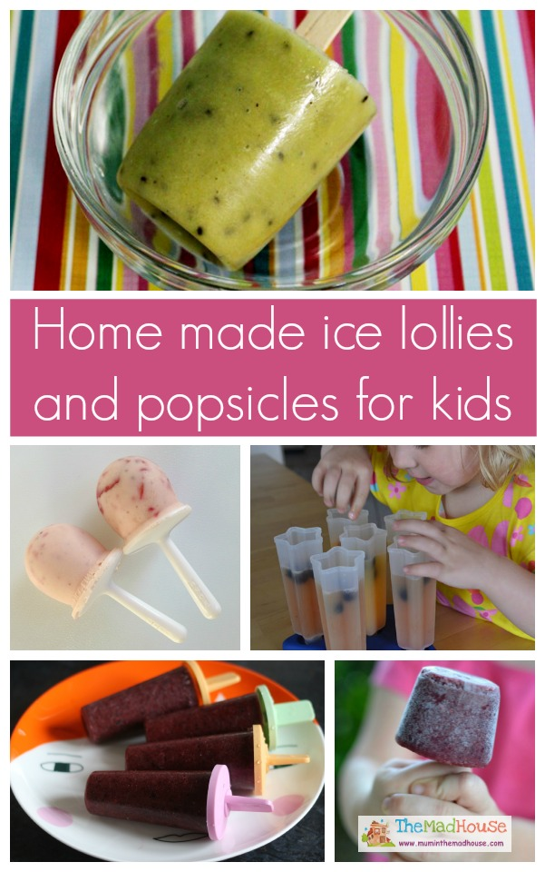 Fab home made ice lollies and popsicles for kids