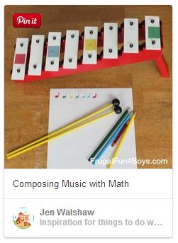 Music with math