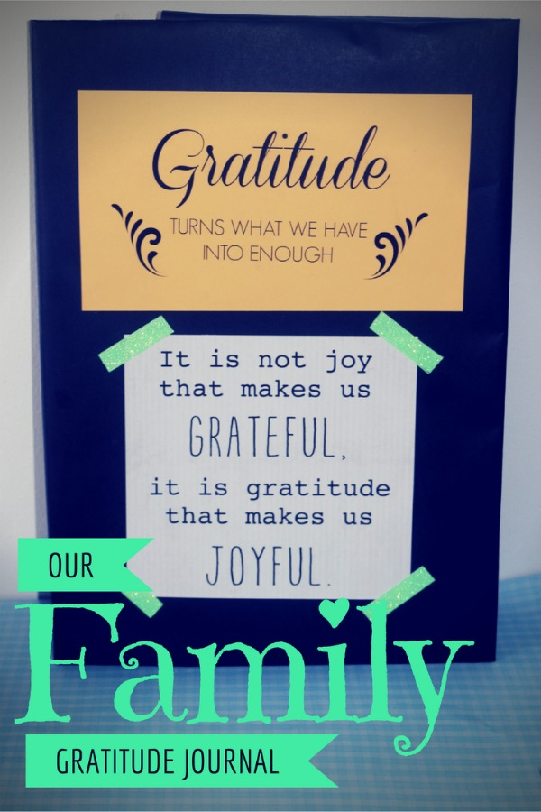 Our Family Gratitude Journal