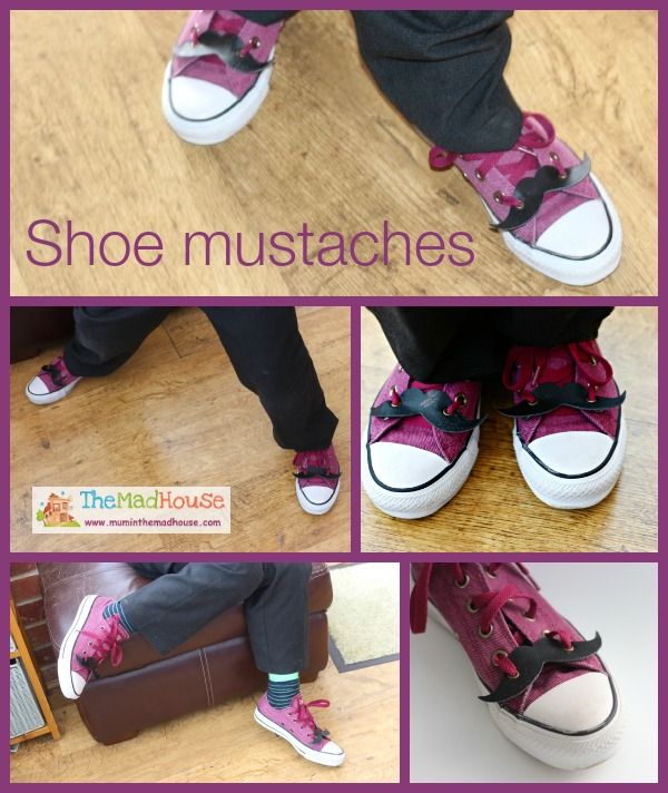 Shoe mustaches mini