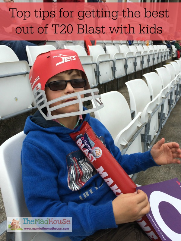 Top tips for getting the best out of T20 Blast with kids