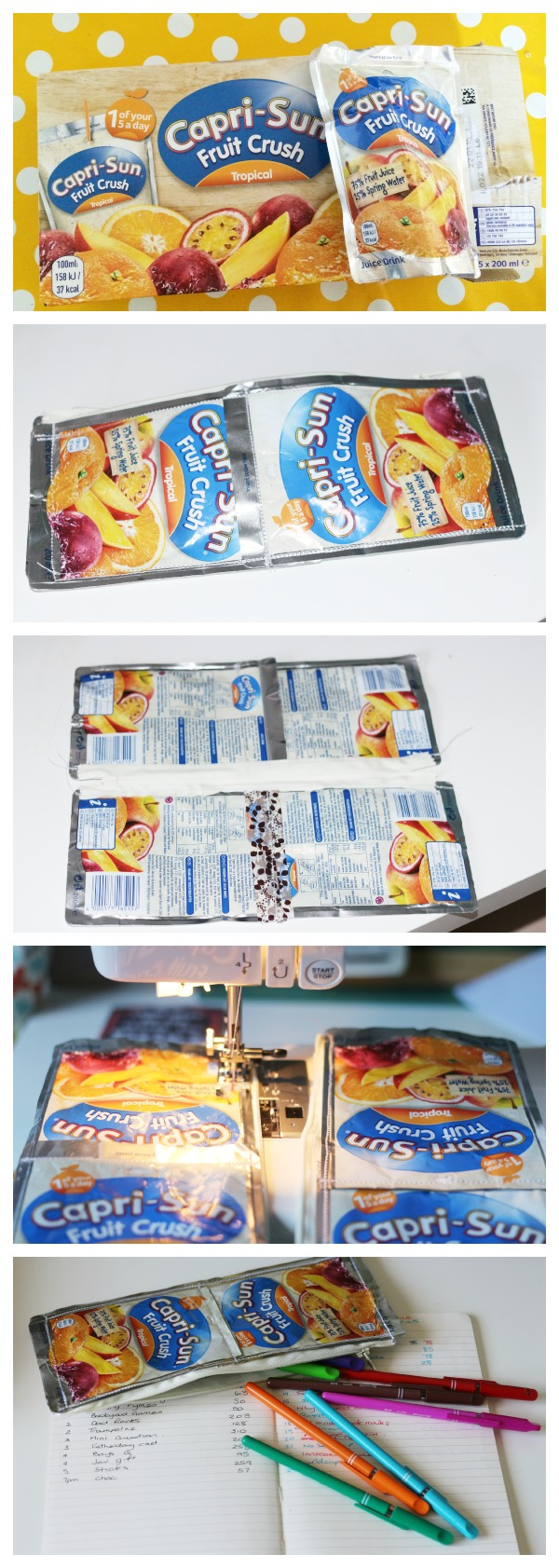 caprisun pencil case how to