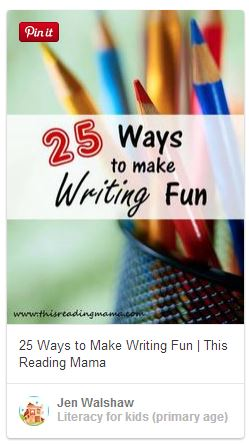 make writing fun