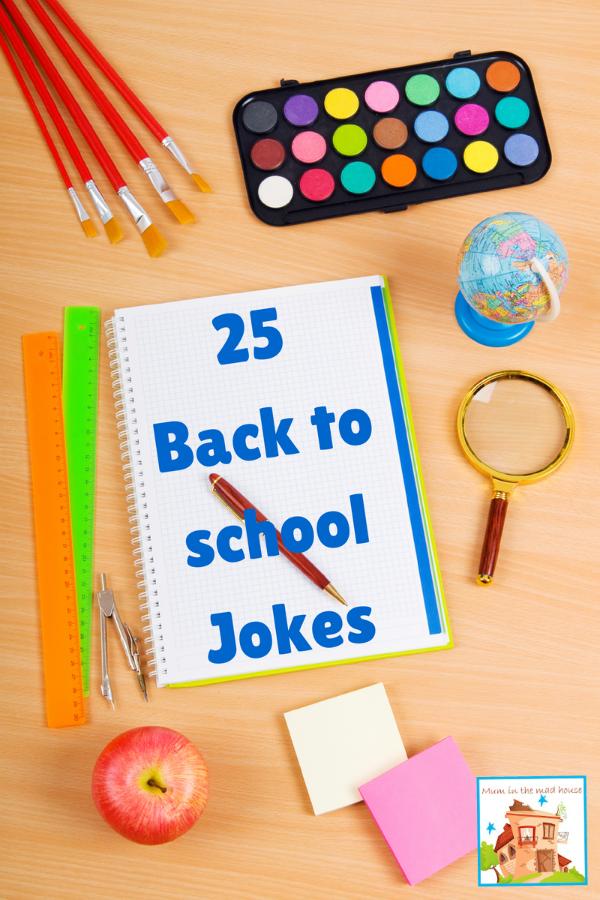 25 Back to school Jokes