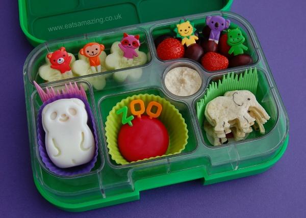 Eats Amazing UK - Simple Zoo themed lunch