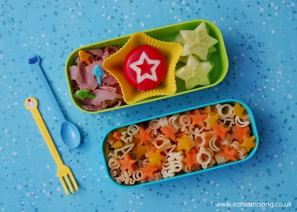 Eats Amazing UK - Star themed bento lunch