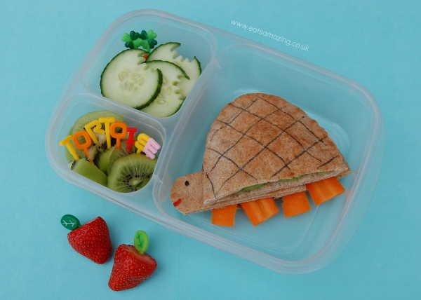 Eats Amazing UK - Tortoise pitta pocket bento lunch