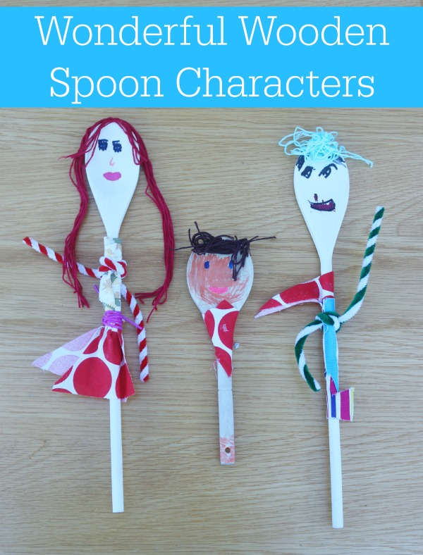 Wonderful Wooden Spoon Characters